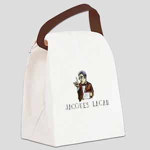 Jacques Lacan Canvas Lunch Bag