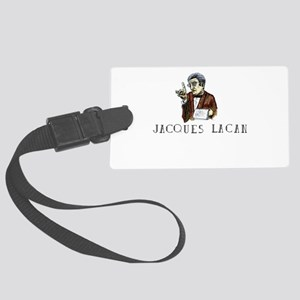 Jacques Lacan Large Luggage Tag