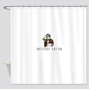 Jacques Lacan Shower Curtain