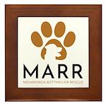MARR logo Framed Tile