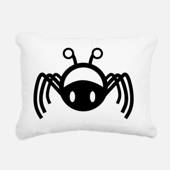 Funny Horror movies Rectangular Canvas Pillow