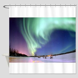 Aurora Borealis/ Northern Lights, B Shower Curtain