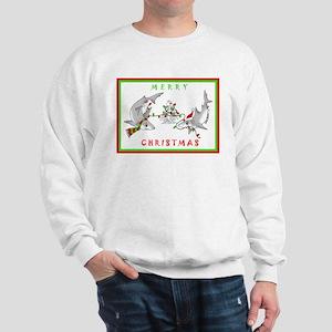 Christmas Sharks Sweatshirt
