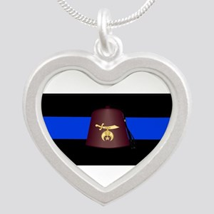 Shriner Thin Blue Line Necklaces