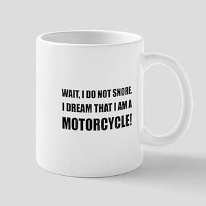 Snore Motorcycle Mugs