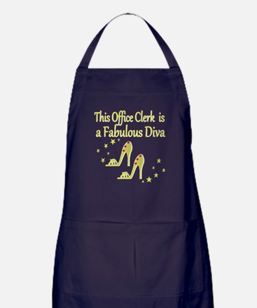 OFFICE CLERK DIVA Apron (dark)