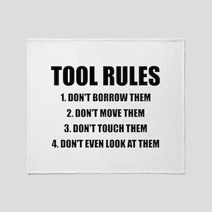 Tool Rules Throw Blanket