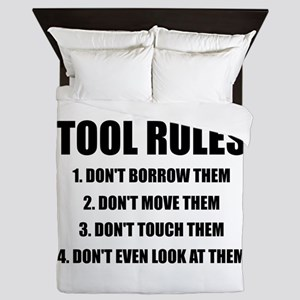Tool Rules Queen Duvet