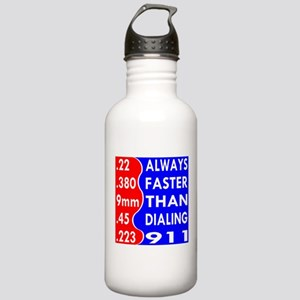 Faster Than Dialing 91 Stainless Water Bottle 1.0L