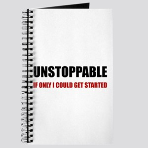 Unstoppable Get Started Journal