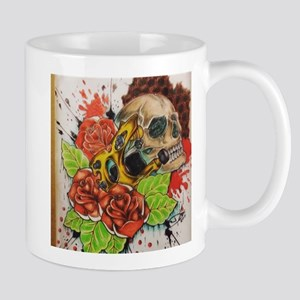 Trash Polka Tattoo Machine Mugs
