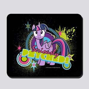 MLP Twilight Sparkle Seriously Psyched! Mousepad