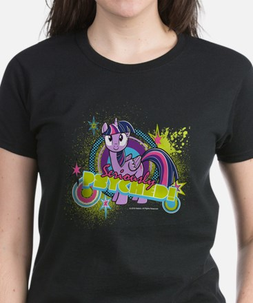 MLP Twilight Sparkle Seriousl Women's Dark T-Shirt