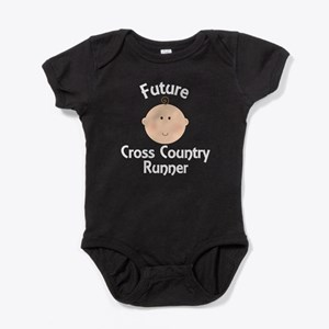 Future Cross Country Runner Baby Bodysuit