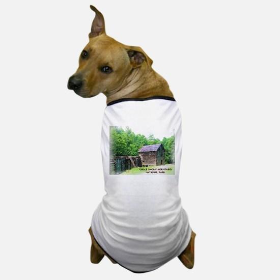 Great Smoky Mountains NP Mingus Mill Dog T-Shirt