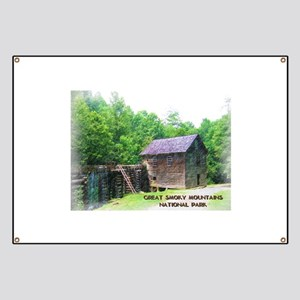 Great Smoky Mountains NP Mingus Mill Banner