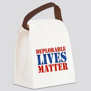 Deplorable Lives Matter Canvas Lunch Bag