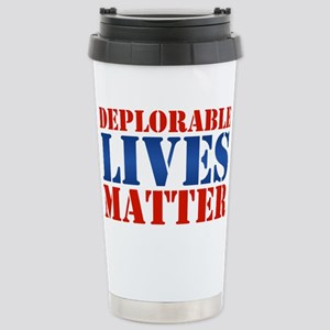 Deplorable Lives Matter Stainless Steel Travel Mug