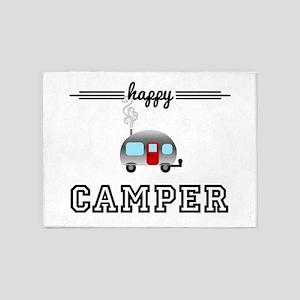 Happy Camper 5'x7'Area Rug