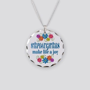 Stepdaughter Joy Necklace Circle Charm