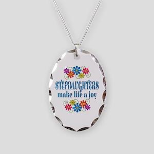 Stepdaughter Joy Necklace Oval Charm