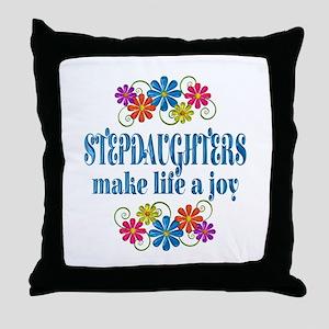 Stepdaughter Joy Throw Pillow