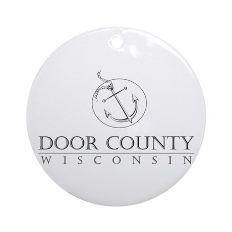 Door County Anchor Round Ornament  sc 1 st  CafePress & Door County Ornaments - CafePress