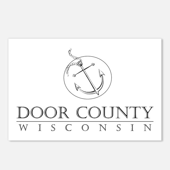 Door County Anchor Postcards (Package of 8)