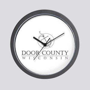 Door County Anchor Wall Clock