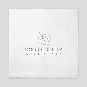 Door County Anchor Queen Duvet