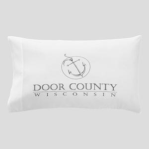 Door County Anchor Pillow Case