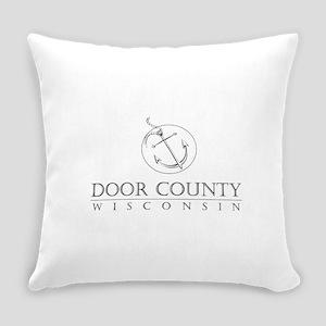 Door County Anchor Everyday Pillow