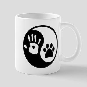 Yin Yang Hand Paw Mugs
