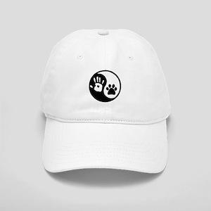Yin Yang Hand Paw Baseball Cap