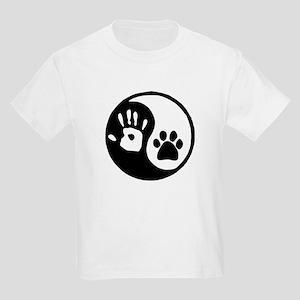 Yin Yang Hand Paw T-Shirt