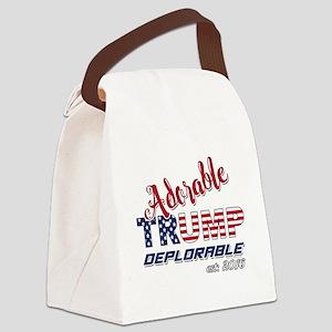 Adorable TRUMP Deplorable 2016 Canvas Lunch Bag