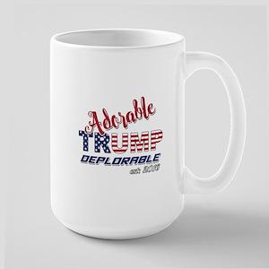 Adorable TRUMP Deplorable 2016 Mugs