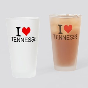 I Love Tennessee Drinking Glass