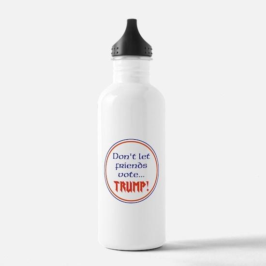 No Trump, Never Trump Water Bottle