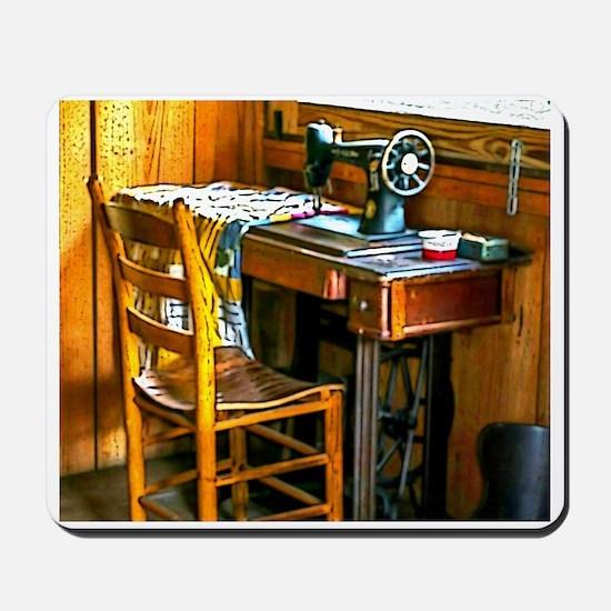 Vintage Seamstress Mousepad