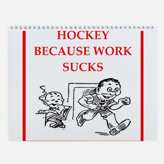 Hockey Wall Calendar