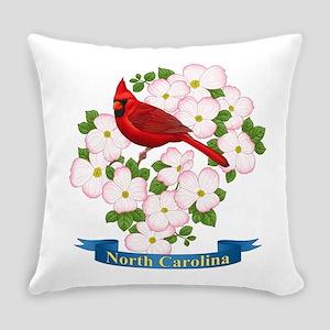 North Carolina Cardinal & Dogwood Everyday Pil
