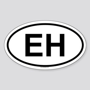 EH Oval Sticker