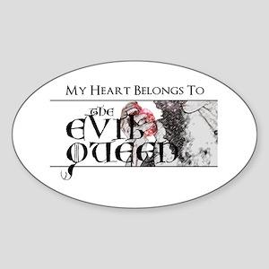 My Heart Belongs to the EQ Sticker