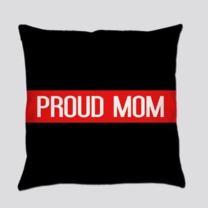 Firefighter: Proud Mom (The Thin R Everyday Pillow