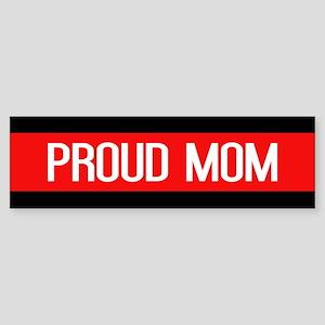 Firefighter: Proud Mom (The Thin Sticker (Bumper)
