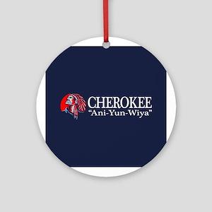 Cherokee Round Ornament
