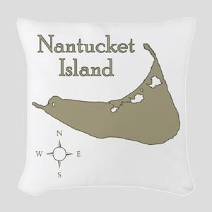 Nantucket Woven Throw Pillow