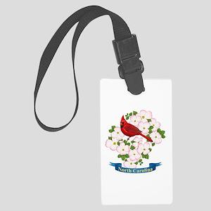 North Carolina Cardinal & Large Luggage Tag