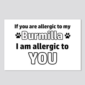 Allergic To My Burmilla I Postcards (Package of 8)